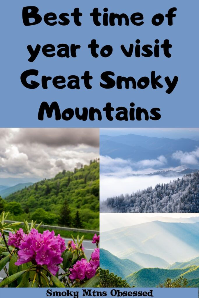 Trying to decide when to visit the Smokies? We have broken down each season so you can decide for yourself the Best Time to Visit the Smoky Mountains